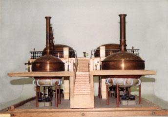 Maquette Heineken Restauratie