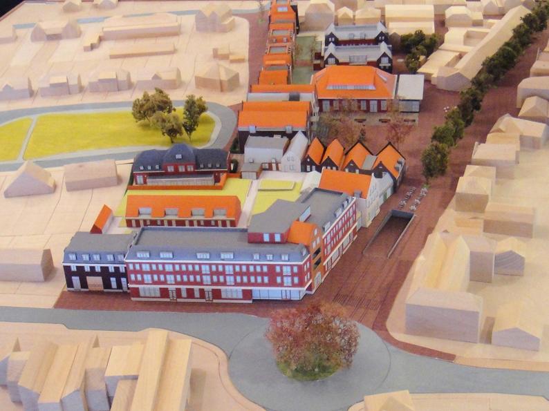 Maquette Oostpoort Nijkerk
