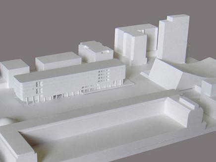 maquettebouw stadhuis bazel