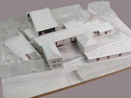 maquettebouw school calais